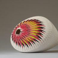 Sein – Oursin (Serie, pigment porcelain)